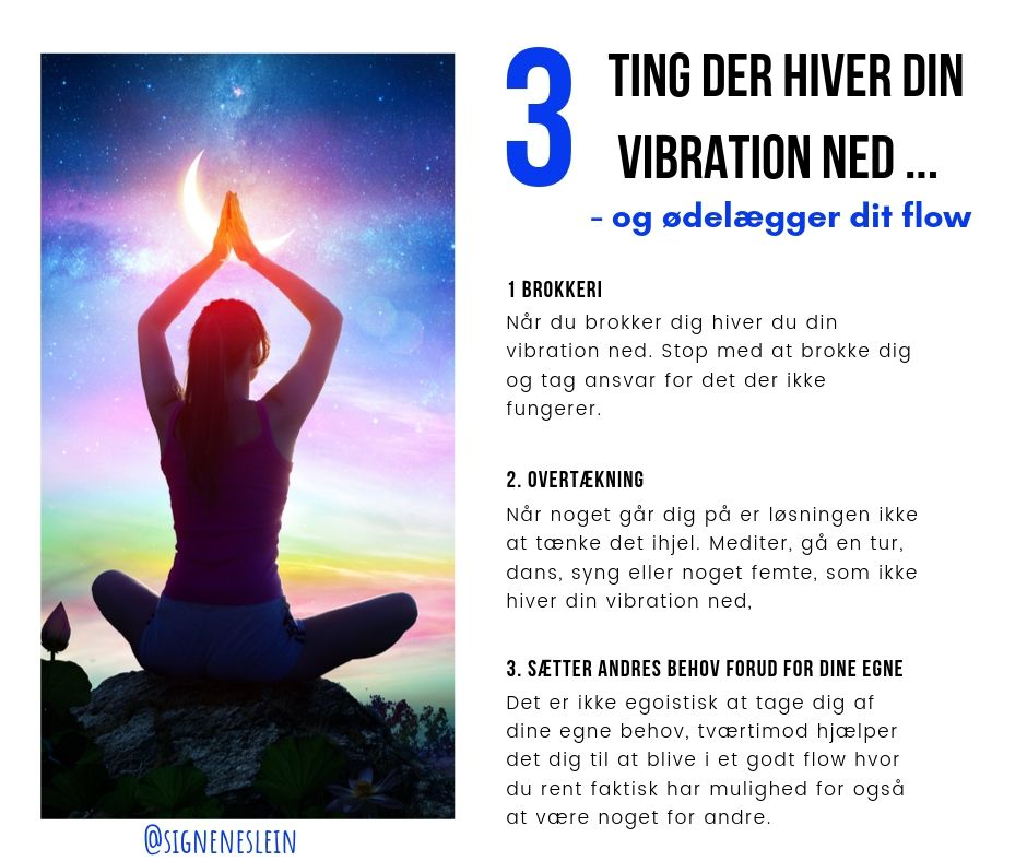 3 ting der hiver din vibration ned