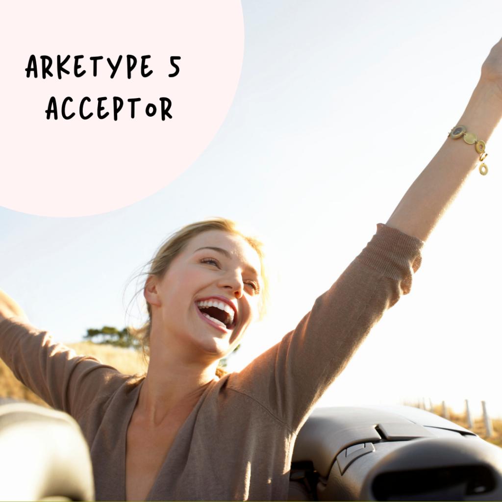 Emografisk arketype 5 Acceptor